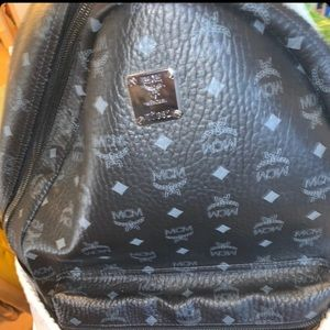 Authentic Xtra large Mcm back pack